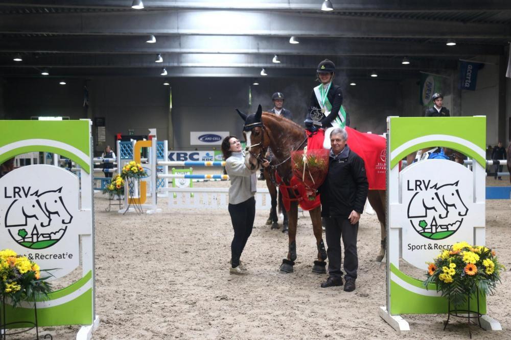 Leen Geysen springt opnieuw naar goud op de LRV